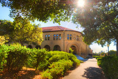 Stanford University Campus in Palo Alto, Californië royalty-vrije stock fotografie