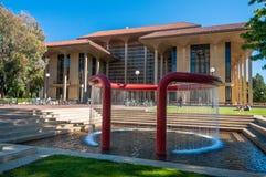Stanford University Campus in Palo Alto, California. USA royalty free stock photo