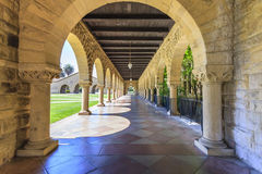 Stanford University chez Palo Alto Image libre de droits