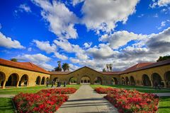Stanford University en California, los E.E.U.U. Fotos de archivo