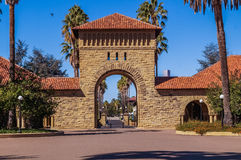 In Stanford University Kalifornien, USA Stockfotografie