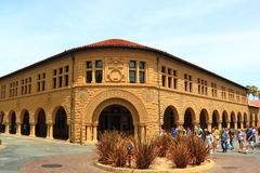 Stanford University Language Corner Stock Image
