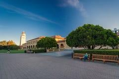 Stanford University och parkerar Royaltyfria Foton