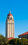 Stanford university tower. The Hoover tower on the Stanford campus Stock Photo