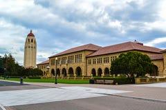 Stanford University universitetsområde royaltyfri foto