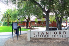 Stanford University Visitor Center Royalty Free Stock Photo