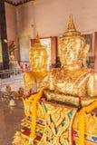 Stange Buddha statue at Pratong temple, Phuket, Thailand Royalty Free Stock Images