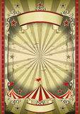 Stange circus royalty free illustration