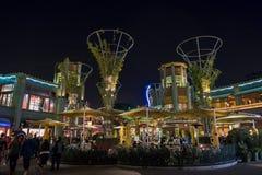 Stange im berühmten im Stadtzentrum gelegenen Disney-Bezirk, Disneyland Resort Stockfotografie