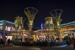 Stange im berühmten im Stadtzentrum gelegenen Disney-Bezirk, Disneyland Resort Stockfoto