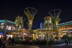 Stange im berühmten im Stadtzentrum gelegenen Disney-Bezirk, Disneyland Resort Lizenzfreie Stockfotos