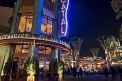 Stange im berühmten im Stadtzentrum gelegenen Disney-Bezirk, Disneyland Resort Lizenzfreie Stockbilder