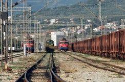 Stange Montenegro Stockbild