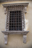Stangen auf dem Fenster Stockbilder