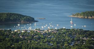 Stangen-Hafen Lizenzfreies Stockfoto