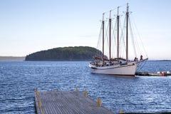 Stangen-Hafen im Acadia-Nationalpark Lizenzfreies Stockfoto