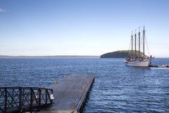 Stangen-Hafen im Acadia-Nationalpark Stockfoto