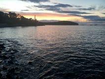 Stangen-Hafen im Acadia-Nationalpark Stockfotografie