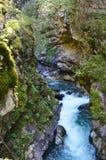 Stanghe瀑布,特伦托自治省女低音阿迪杰意大利 免版税库存图片