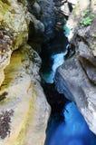 Stanghe-Wasserfall, Trentino Alto Adige Italy Stockfotografie