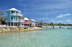 Staniel Cay Yacht Club Stock Images