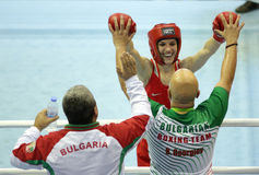 Stanimira彼得罗瓦拳击手 免版税图库摄影