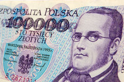 Stanisław Moniuszko banknote Stock Photo