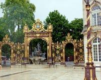 Stanislas Place à Nancy photographie stock libre de droits