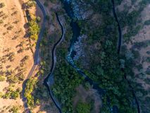 Stanislaus River imagens de stock royalty free