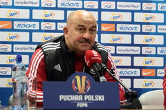 Stanislav Cherchesov Photo stock