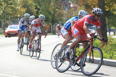 Stanislav Hejduk - cycling race Bohemia race 2012 Stock Photo
