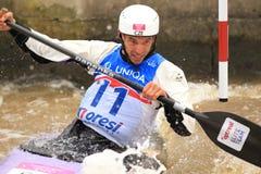 Stanislav Jezek - canoe in water slalom Stock Photos