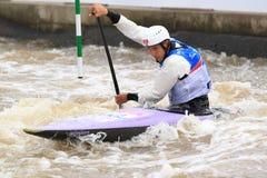 Stanislav Jezek - water slalom world championship Royalty Free Stock Photo