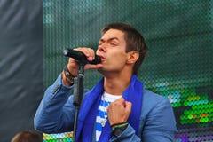 Stanislav Piatrasovich Piekha (Stas Piekha) — is a Russian popular singer and actor, and the grandson of Edita Piekha. Royalty Free Stock Photography