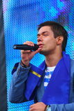 Stanislav Piatrasovich Piekha (Stas Piekha) — is a Russian popular singer and actor, and the grandson of Edita Piekha. Stock Image