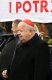 Stanislaw Dziwisz cardinal Photographie stock