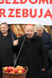 Stanislaw Dziwisz cardinal pendant le réveillon de Noël Photo stock