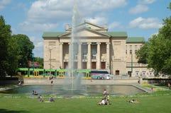 Stanislaw Moniuszko Theater en Poznán, Polonia Imagenes de archivo