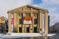Stanislaw Wyspianski Silesian Theater Royalty Free Stock Photos