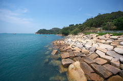 Stanley Bay in Hong Kong Stock Image