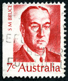 Stanley Bruce Australian Postage Stamp imagens de stock royalty free