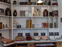 STANLEY, COMTÉ DURHAM/UK - 20 JANVIER : À l'intérieur d'une vieille boulangerie Photographie stock libre de droits