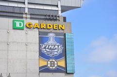 Stanley Cup Finals on the TD Garden Stock Photo