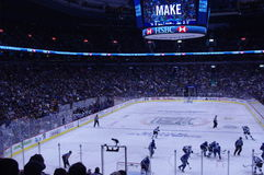 Stanley Cup Playoffs game Royalty Free Stock Photography