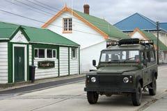 Stanley Falkland Wyspy - Fotografia Royalty Free