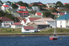 Stanley, Falkland wyspy Zdjęcia Royalty Free