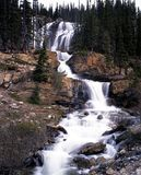 Stanley Falls, Alberta, Canada. Stock Photos