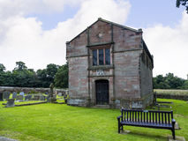 Stanley Family Mausoleum in St Mary's Parish Church in Nether Alderley Cheshire. Royalty Free Stock Image