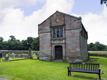 Stanley Family Mausoleum in St Mary's Parish Church in Nether Alderley Cheshire. Set in the rural countryside of Nether Alderley this Traditional Church stock image