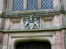 Stanley Family Mausoleum in St Mary's Parochiekerk in Onder- Alderley Cheshire Royalty-vrije Stock Afbeeldingen